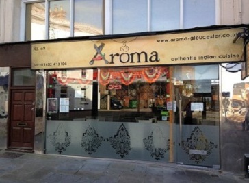 Restaurants in gloucester for Aroma indian cuisine menu