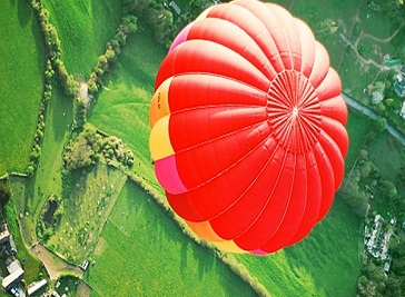 Ballooning in the Cotswolds